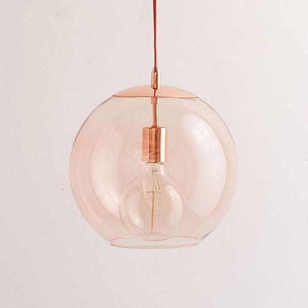 Hgtv Home Cassandra Blown Glass Mini Pendant Modern: Best 25+ Globe Pendant Light Ideas On Pinterest