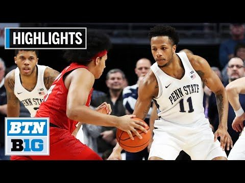 Highlights Dread Hits The Triple For The Win Rutgers At Penn State Feb 26 2020 Youtube In 2020 Penn State Big Ten Football Big Ten