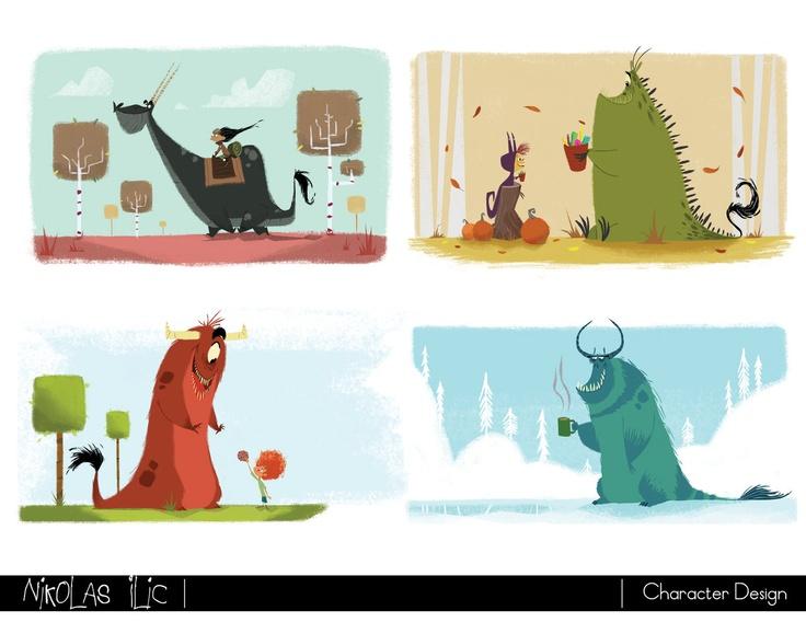 Nikolas Ilic: Designer/ Visual Development Artist | Character Design