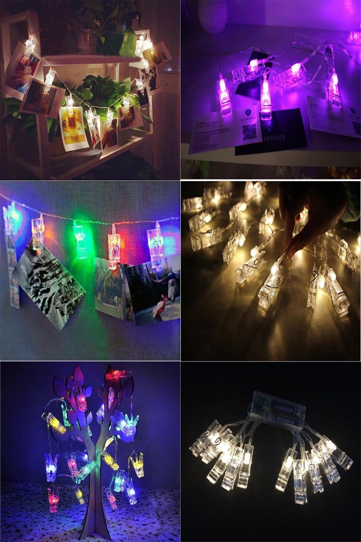 [Visit to Buy] 1.5M Mini 10 led clip  string lights battery Christmas lights new year party wedding home decoration fairy lights battery #Advertisement