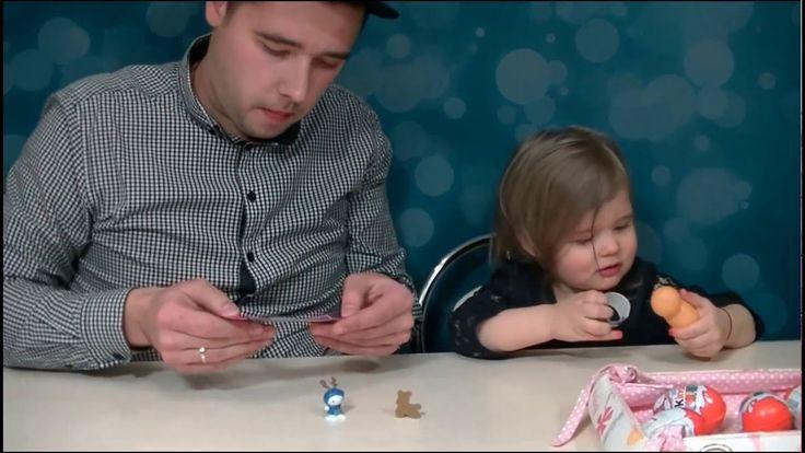 Киндер сюрприз принцессы диснея маша и медведь хелло кити распаковка Kinder Surprise Disney Princess