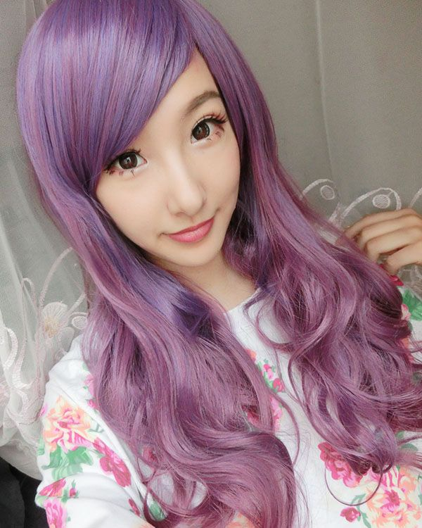 Lolita Cosplay Wig Long Wavy Costume Wig Party Wig