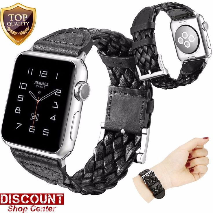 For Apple Watch Leather Band 38mm Bracelet Wrist Strap Replacement Series 1 2 3 #ForAppleWatchLeatherBand