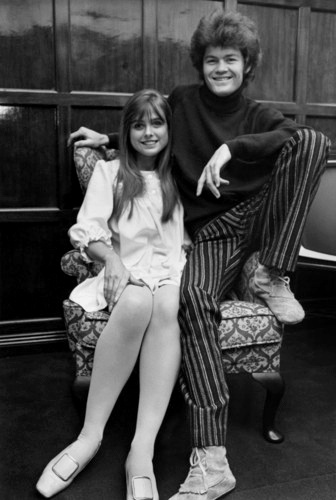 Mickey Dolenz Samantha Juste   Sam Was A British Model And TV Personality.  They Married In Had A Daughter And Divorced N
