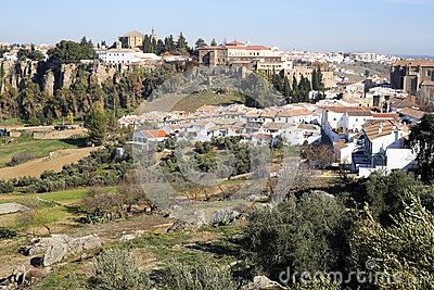 A view upon Ronda. The old and the new town taken in december 2015 around Christmas time. It's a MUST-VISIT place if you like to hike! Andalusia Spain