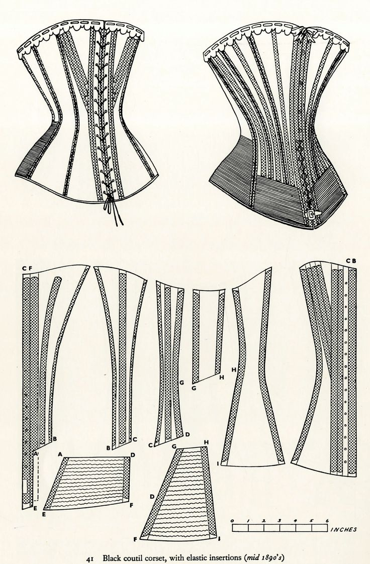 331 best Corsets - Patterns & Tutorials images on Pinterest | Corset ...