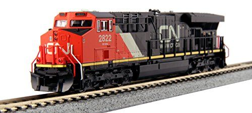 Locomotive  Kato USA Model Train Products GE ES44AC Gevo Canadian National 2822 *** More info could be found at the image url.