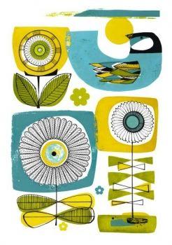 $90 42x60 Sunny days print by Holly Roach