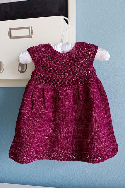 Ravelry: Mischa Baby Dress pattern by Taiga Hilliard