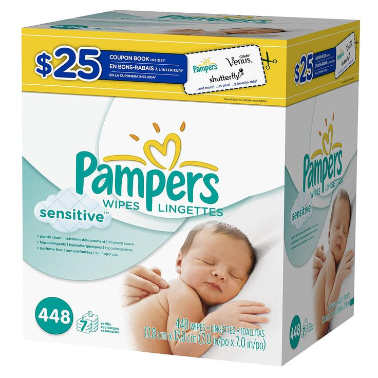 Clinically proven mild, Pampers Sensitive Wipes help restore babies? natural skin balance while gently cleaning at the same time. They're also perfume and alcohol free, they are dermatologist tested, and they work great on the hands and face.