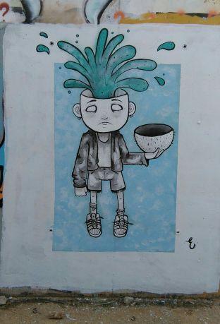 Mentalmente - Graffiti de Eva Barbancho