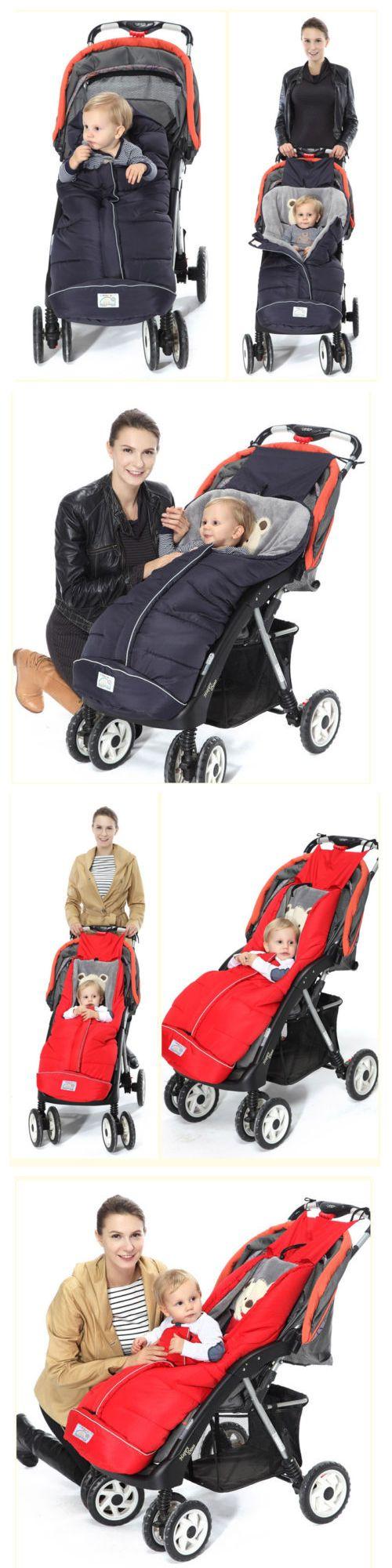 Footmuffs 116553: Baby Strollers Pushchairs Prams Cot Bed Footmuff Sleeping Bag Blanket Cosy 6-24M -> BUY IT NOW ONLY: $33.99 on eBay!