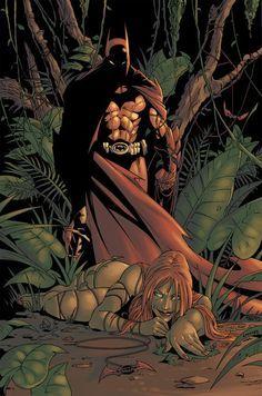 Batman & Poison Ivy by LaWeegie