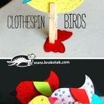 CLOTHESPIN+BIRDS