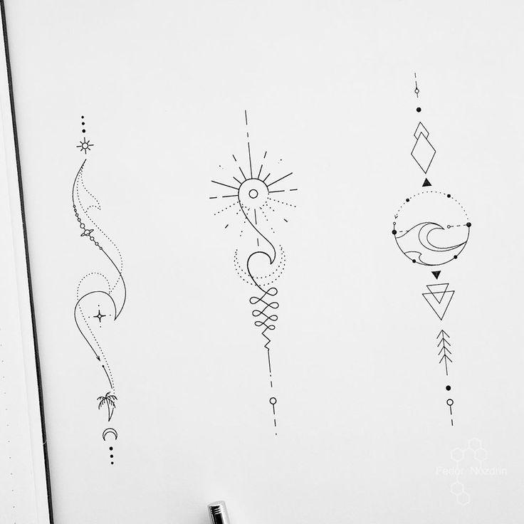 Geometrictattoo Geometrictattoo Wavetattoo Suntattoo Unalometattoo Travallingta In 2020 Geometric Tattoo Design Inspirational Tattoos Geometric Arrow Tattoo