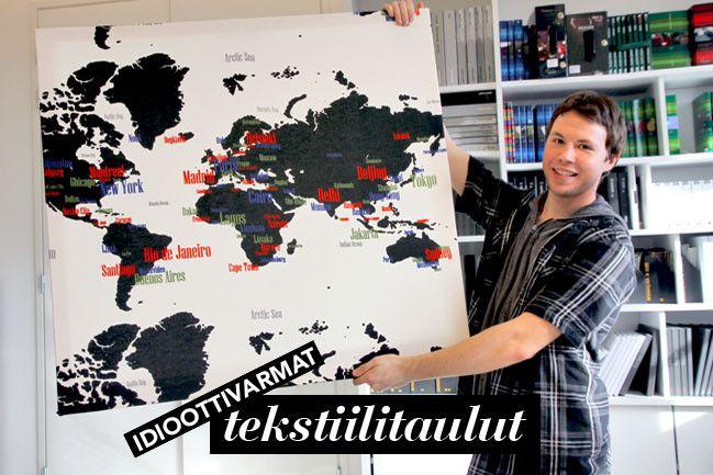 Idioottivarmat kangastaulut - Verhon takaa by Vallila   Lily.fi