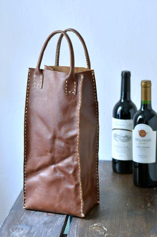 wine bag for two bottles