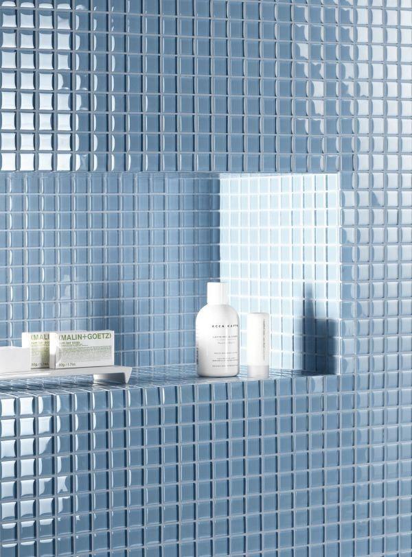 H rligt bl mosaik lh d s kakel seven ljusbl cm - Finto mosaico bagno ...