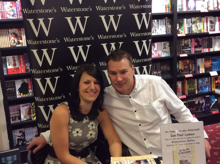 My book launch at water stones in Bolton