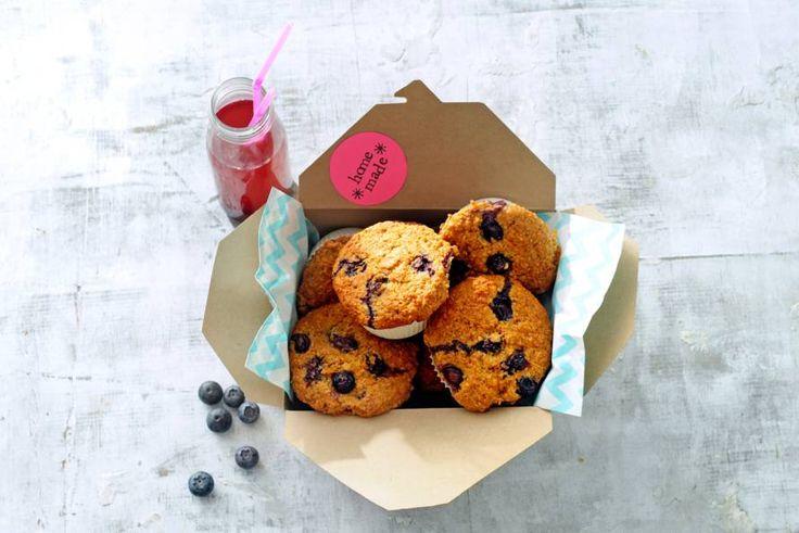 Ontbijtmuffins met superfood havermout. Overigens... als tussendoortje net zo lekker. - recept - Allerhande