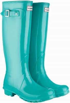 Turquoise#: Shoes, Turquoi Boots, Rainboots, Rainy Day, Color, Hunters Rain Boots, Tiffany Blue, Hunters Boots, Turquoise Boots