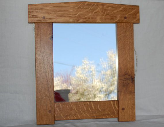 Craftsman Mirror - Quartersawn Oak