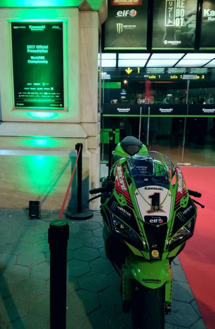 #Barcelona #Kawasaki Racing Team Presentation #worldsbk #wsbk #wsbk2017