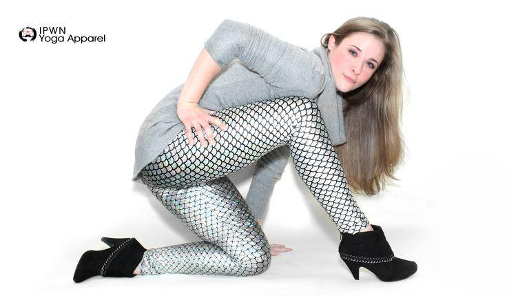Silver Mermaid Yoga Pants  http://tinyurl.com/silverpwn