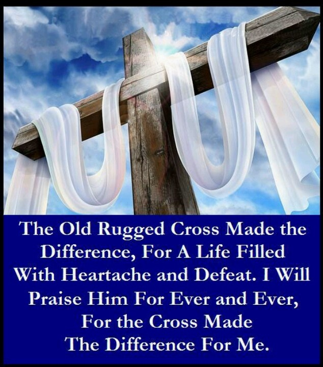 The Old Rugged Cross Made Difference Roselawnlutheran