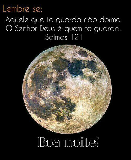 Boa noite,  Salmos 121