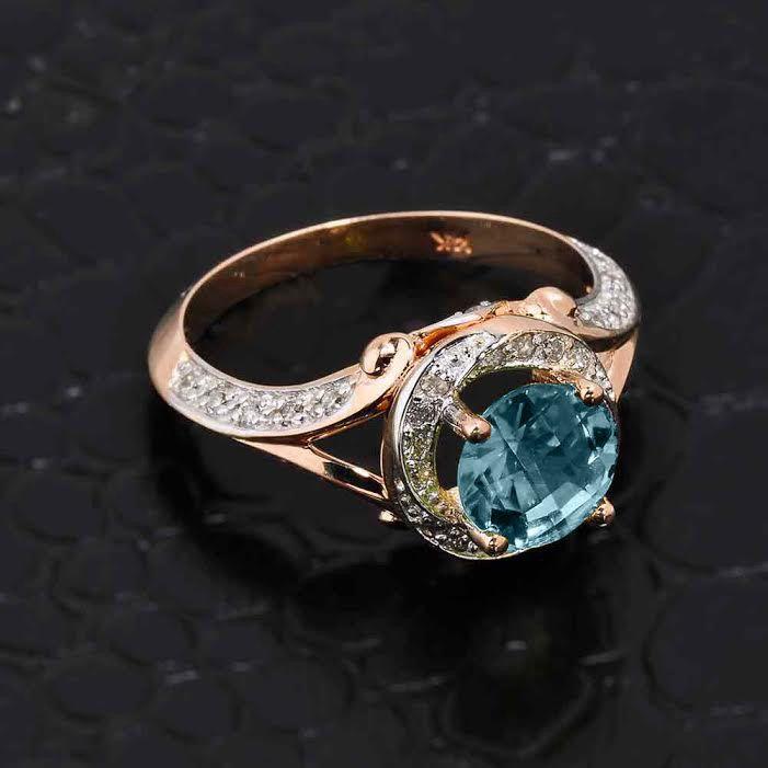 The 25 best Aquamarine ring rose gold ideas on Pinterest