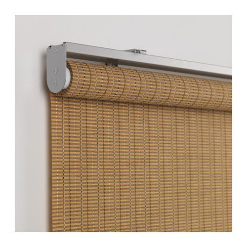1000 ideas about brown roller blinds on pinterest green for Bamboo roller shades ikea