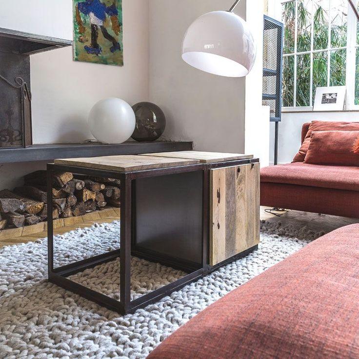 Les 25 meilleures id es de la cat gorie table en forme de coffre sur pinteres - Table basse violette ...