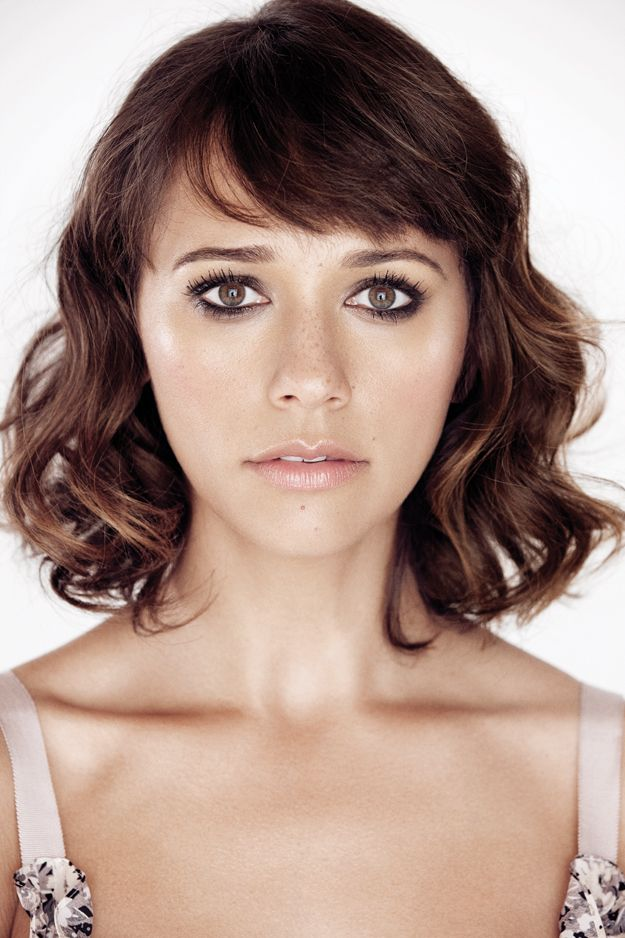 Rashida Jones - If you have the curls to pull off this bob - Do it! Really cute, though I feel like I would immediately regret the bangs