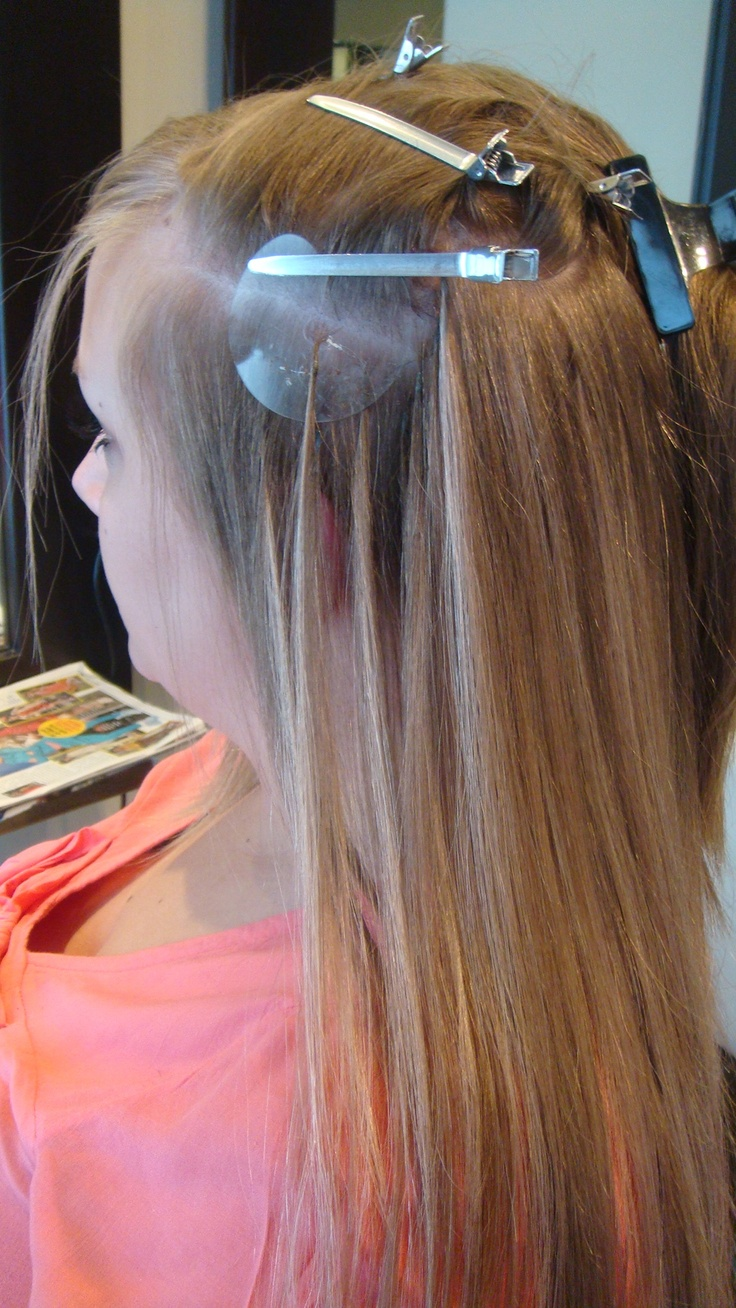 16 bsta bilderna om natural human hair extensions connect shrinkies are tiny transparent plastic tubes that are dual walled with a keratin coating on the pmusecretfo Choice Image