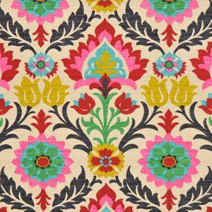 Stools.   Modern Ikat Fabric Upholstery Fabric by the by greenapplefabrics, $54.00