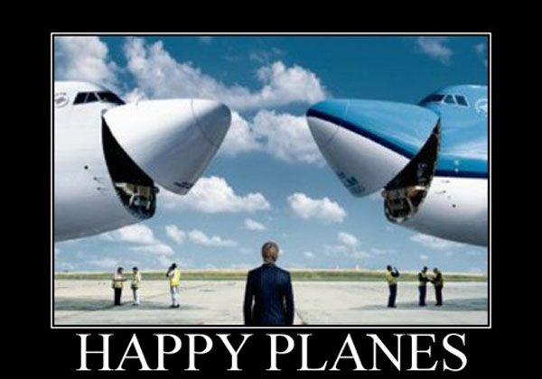 This is what happens to planes after refueling them with a gas trailer. :) www.gastrailer.com #fueltrailer
