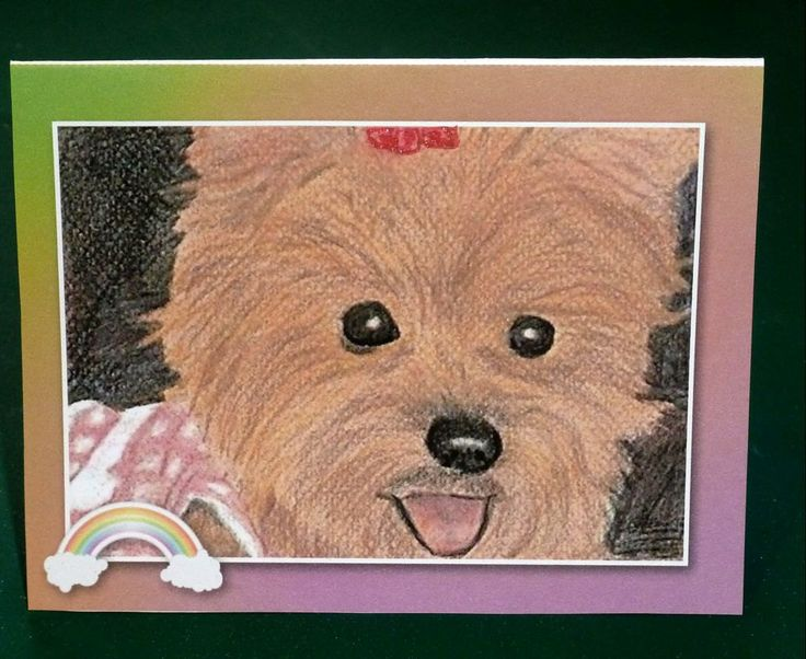 Female Pet Sympathy Card by SouthamptonCreations on Etsy