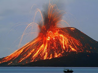krakatau, Sumatera, Indonesia