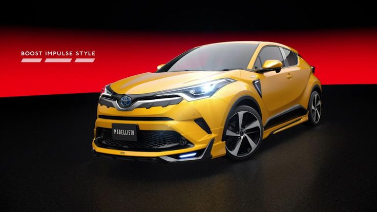 Toyota C-HR sizzles with Modellista body kit