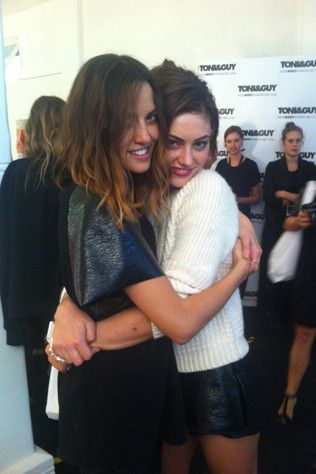Phoebe Tonkin talks to Kym Ellery about her spring/summer '13/'14 collection.