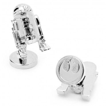 What you wear and how you wear it determines your characteristic. Create your own individual style and purchase your first star wars cuff links or add to your collection, starting with a distinguishing pair of 3D Palladium R2D2 Cufflinks.