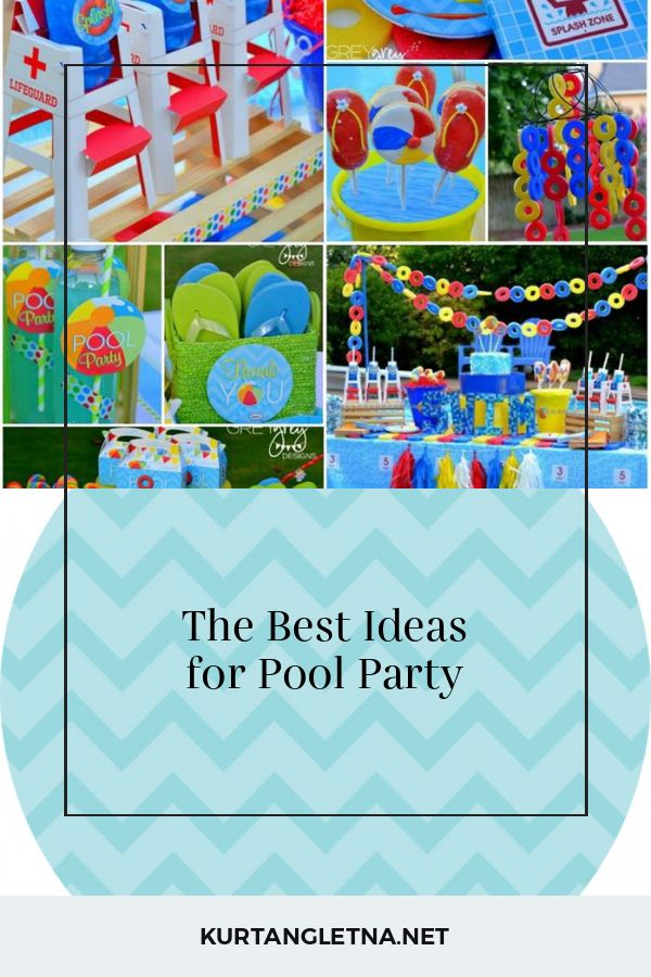 The Best Ideas for Pool Party – Home Ideas and Inspiration | DIY Crafts and Part…