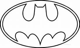 Original Batman Symbol Outline - ClipArt Best in 2020 ...