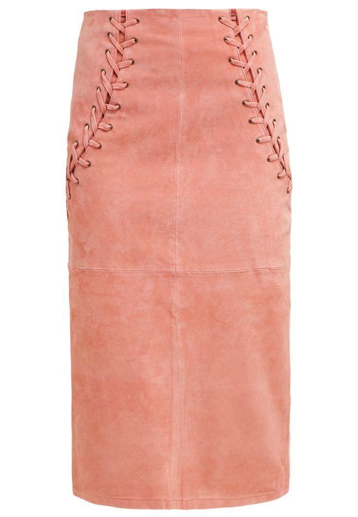 Dorothy Perkins Spódnica ołówkowa pink