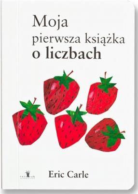 """Moja pierwsza książka o liczbach - Jak wiele wisienek widzisz na obrazku? Ile jabłek znajduje się na ilustracji? """"Moja pierwsza książka o liczbach"""" pomoże Maluchom nie tylko poznać odpowiedzi na te pytanie, ale rzeczywiście zrozumieć proces liczenia, ze wszystkim jego fizycznymi i wyobrażeniowymi konsekwencjami."""