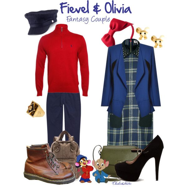 """""""Fievel & Olivia - Fantasy Couple"""" by cheshirehatter on Polyvore"""