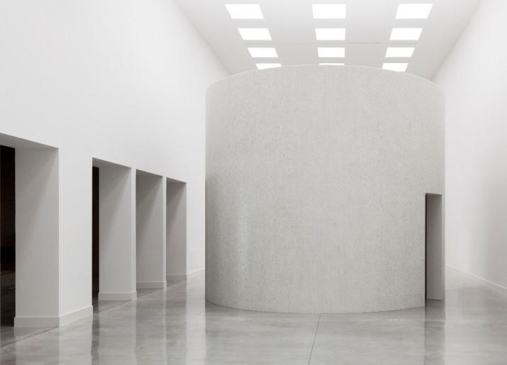 Site specific John Pawson installation at the Fondazione Bisazza.