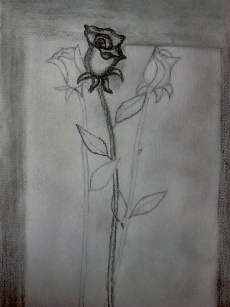 A 3d rose