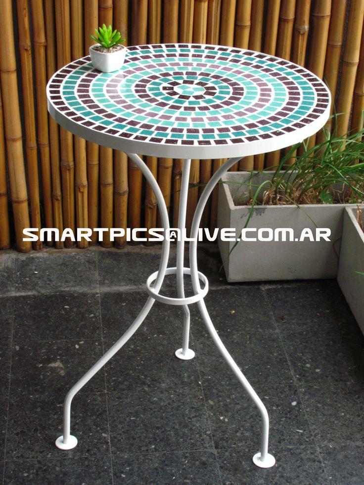 25 best mesas con venecitas y sillas de hierro images on - Mesa de hierro ...